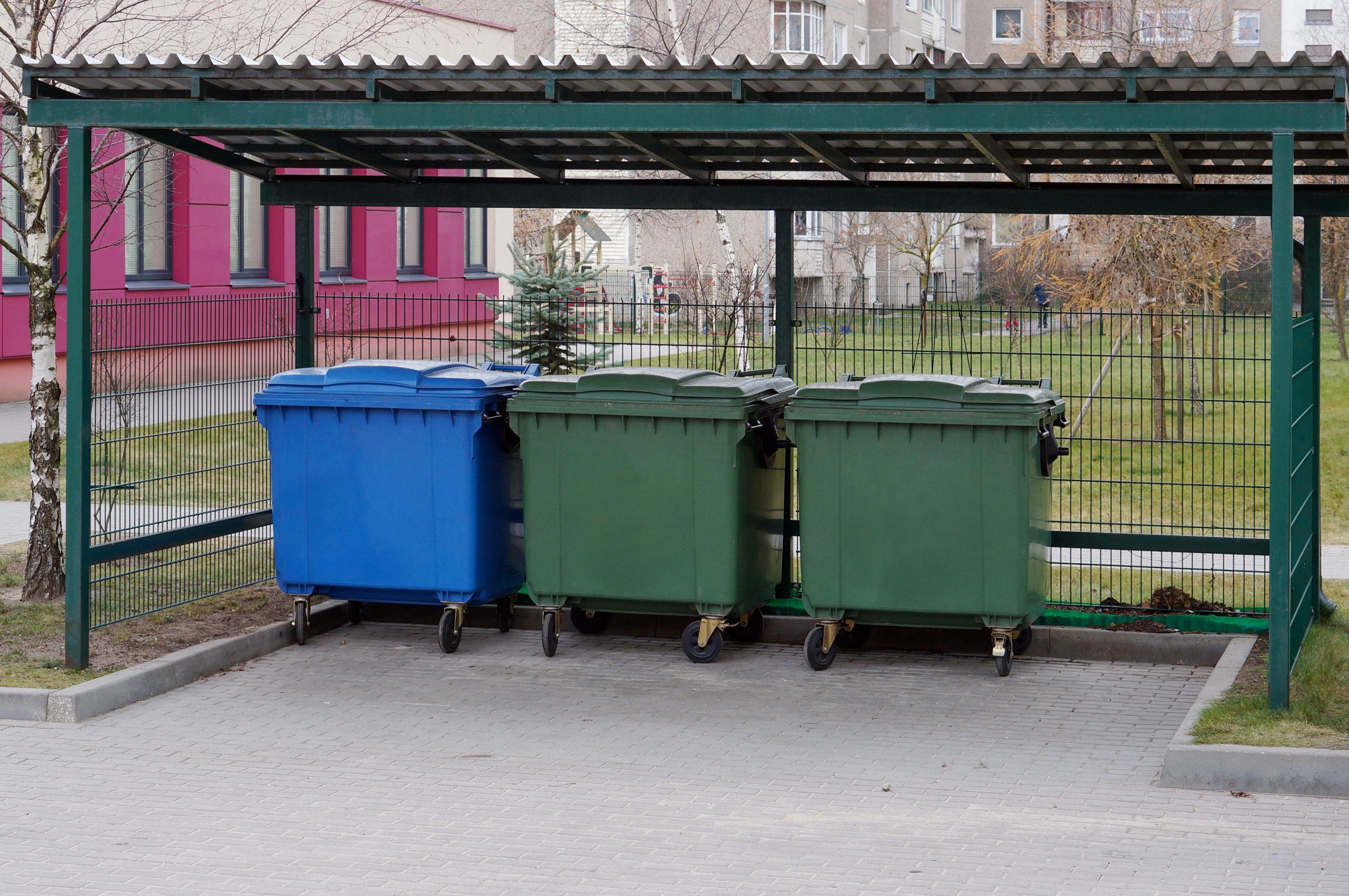 Gestion des immondices & poubelles Liège